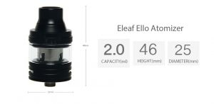 iStick Pico 25 with ELLO 85W with 2ml Kit