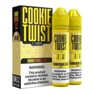 Премиум жидкость Cookie twist - Banana Oatmeal Cookie