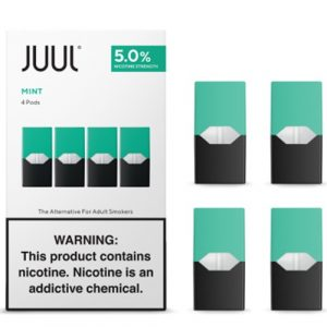 Juul Cartridge 4 шт. Mint