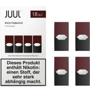 JUUL Cartridge 4 шт. Rich Tobacco