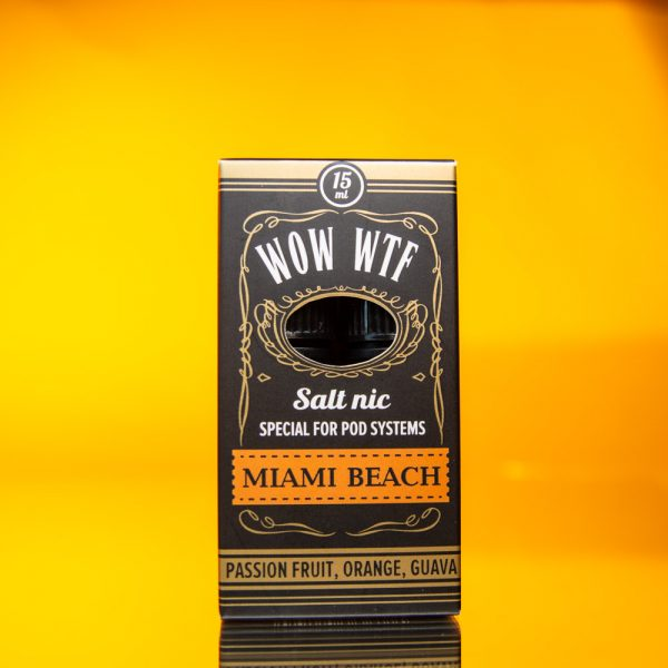 WOW WTF Salt - Miami Beach 15+15 ML