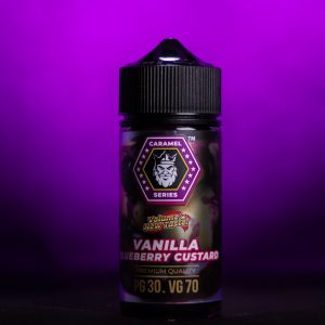 Flamingo - Vanilla Blueberry Custard